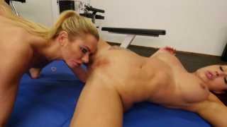 Streaming porn video still #6 from Lesbian Anal Trainers