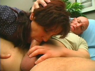 Streaming porn scene video image #3 from Granny without teeth gives awesome blowjob to her nephew