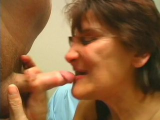 Streaming porn scene video image #8 from Granny without teeth gives awesome blowjob to her nephew