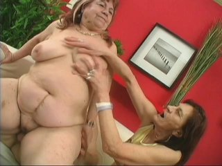 Streaming porn scene video image #3 from Horny son fucked by his mother and grandmother