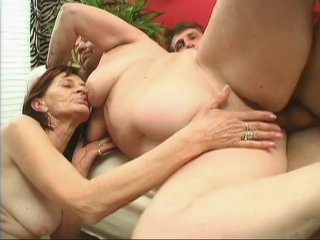 Streaming porn scene video image #8 from Horny son fucked by his mother and grandmother
