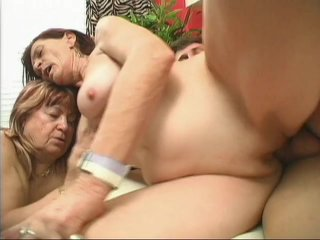 Streaming porn scene video image #9 from Horny son fucked by his mother and grandmother