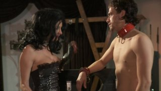 Streaming porn video still #3 from Men In Black: A Hardcore Parody