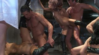 Streaming porn video still #4 from Men In Black: A Hardcore Parody