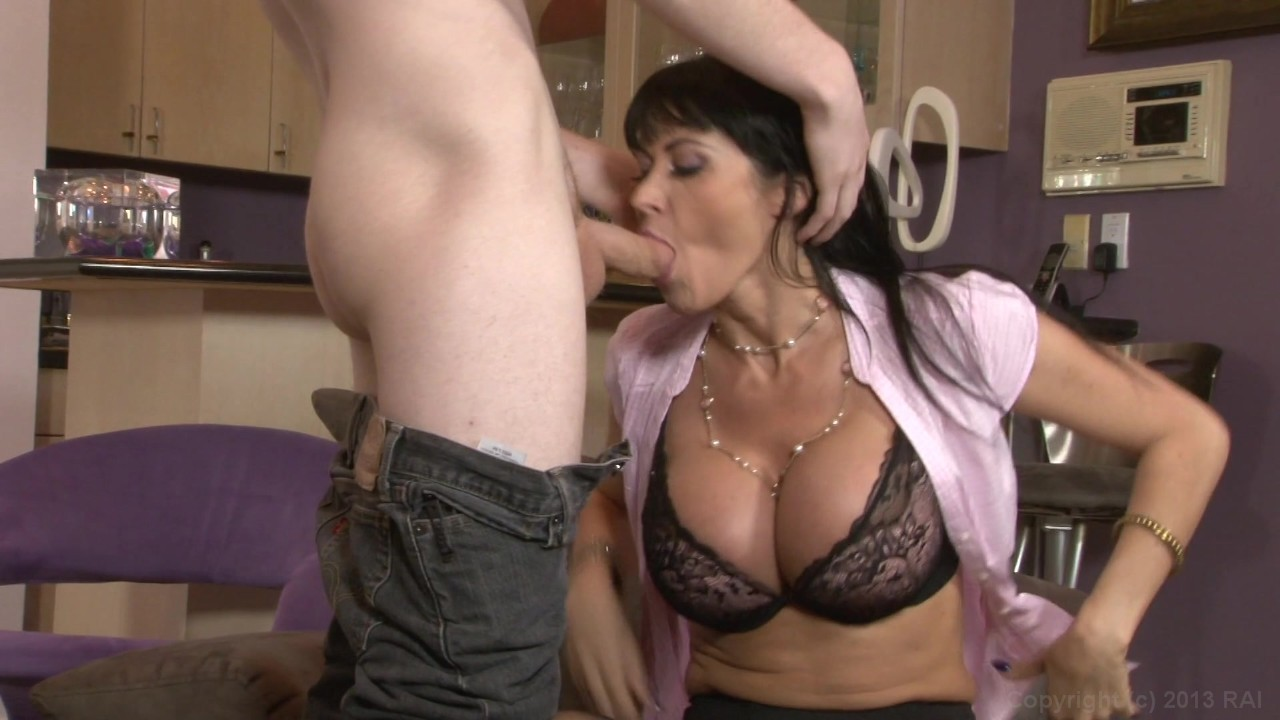 Mature mother inlaw threesome