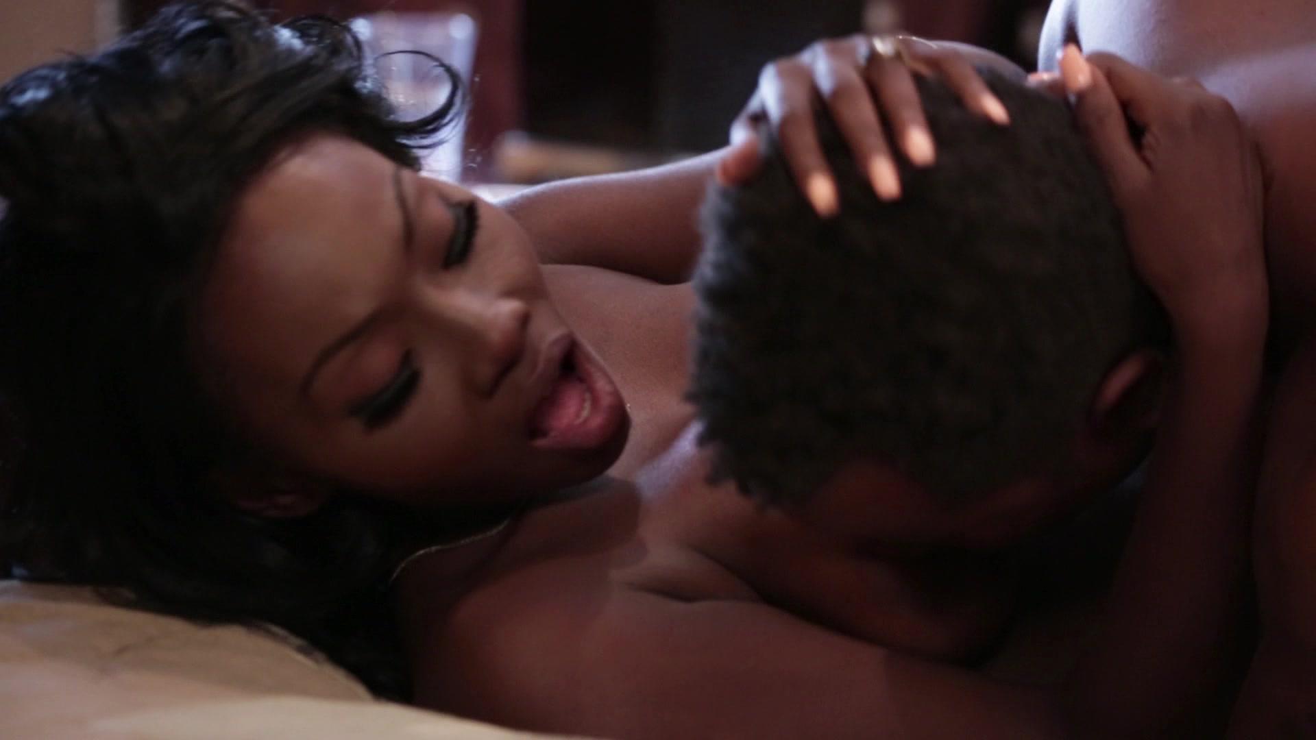 Interracial sex scene