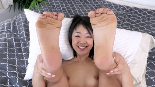 Streaming porn video still #9 from Kick Ass Chicks 98: Asian Fever