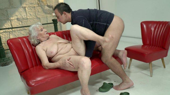 Streaming porn video still #1 from Grandma Gets Nailed #26