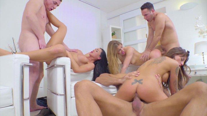Streaming porn video still #1 from 3 On 3 Orgies