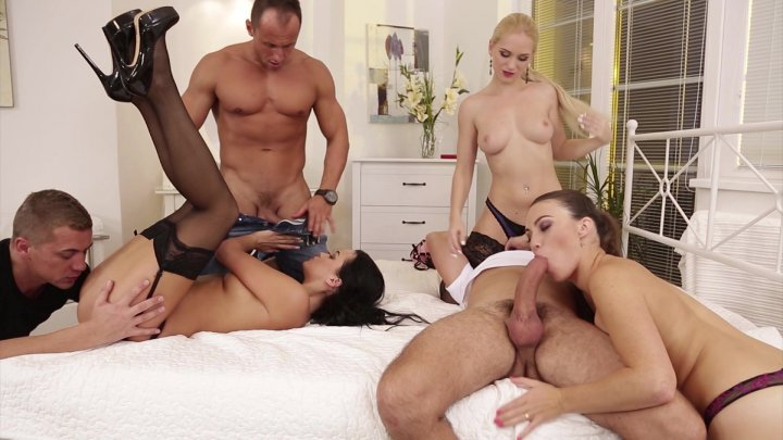 Streaming porn video still #2 from 3 On 3 Orgies
