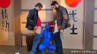 Streaming porn video still #2 from Brazzers Presents: The Parodies 6