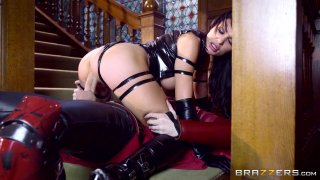 Streaming porn video still #6 from Brazzers Presents: The Parodies 6