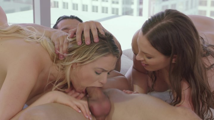 Streaming porn video still #4 from Threesome Fantasies Vol. 4
