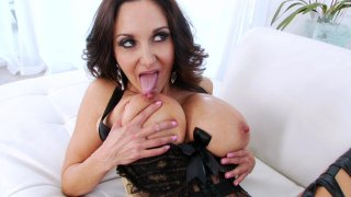 Streaming porn video still #1 from Strap On Anal Lesbians 3