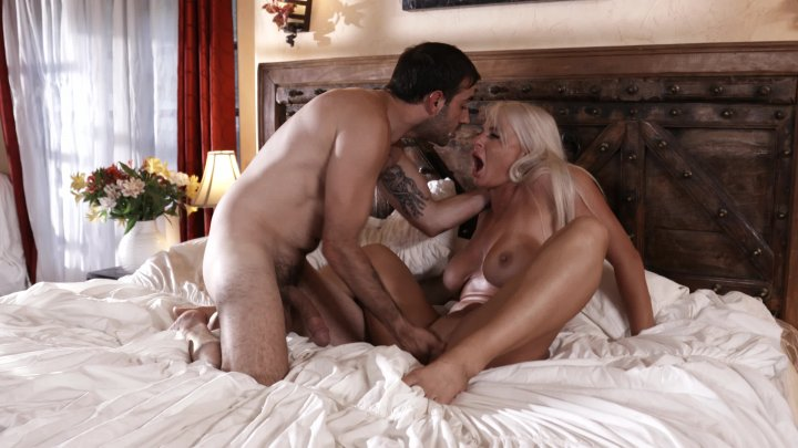 Streaming porn video still #1 from My Stepson Came Inside Me