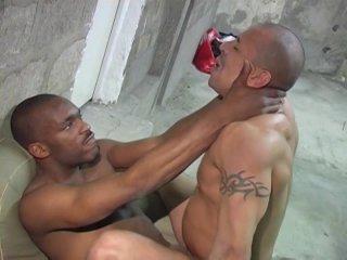 Streaming porn video still #5 from Big Black Cock Attack