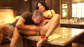 Streaming porn video still #1 from Fuck My Big Titted Wife #7