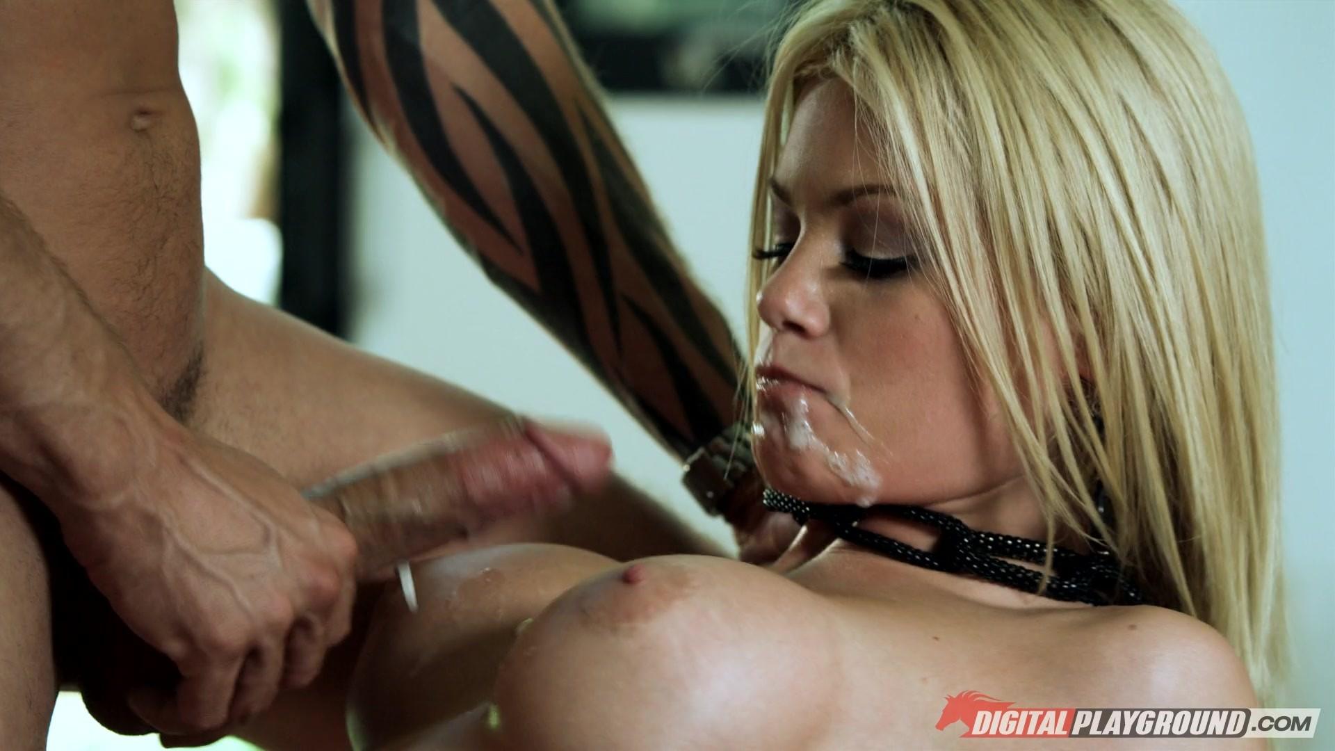 Tushyraw riley steele has incredible intense anal sex