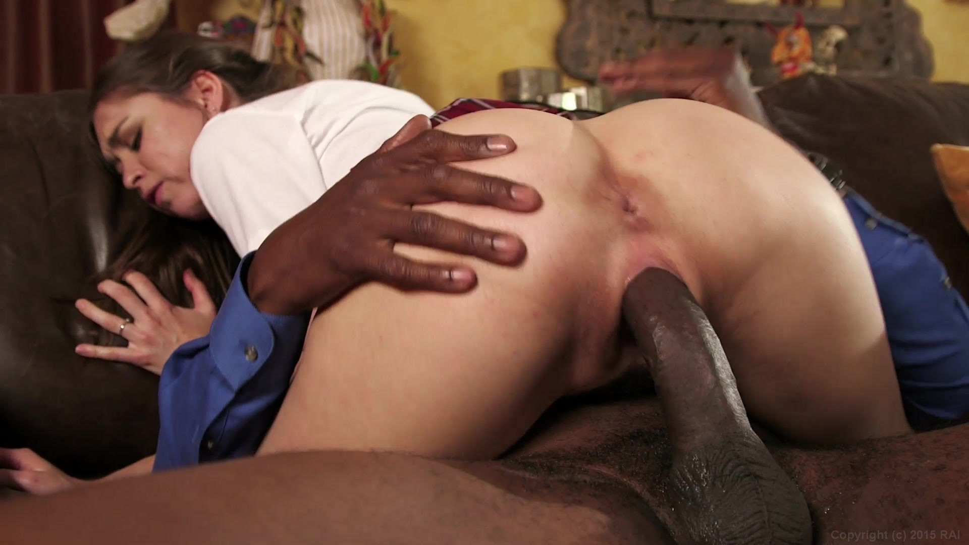 Young interracial image photo