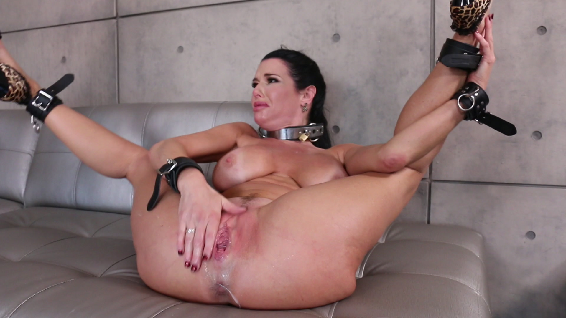 Stirling cooper, joanna angel punished with rope bondage and rough anal