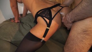 Streaming porn video still #9 from UK TGirls #2: Banging British Blondes