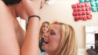 Streaming porn video still #2 from Tongue Me Down 2