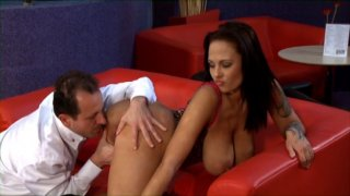 Streaming porn video still #3 from Fuck My Big Titted Wife