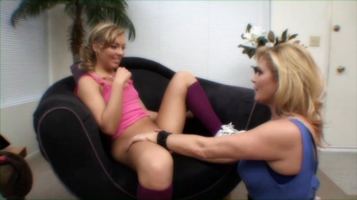 Streaming porn video still #1 from Young & Old Lesbians