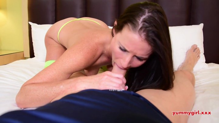 Streaming porn video still #1 from Yummy Stepmom Collection #3