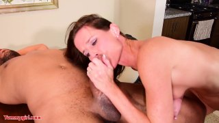 Streaming porn video still #6 from Porn Star Blowjob Collection #1