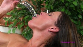 Streaming porn video still #4 from Porn Star Blowjob Collection #1