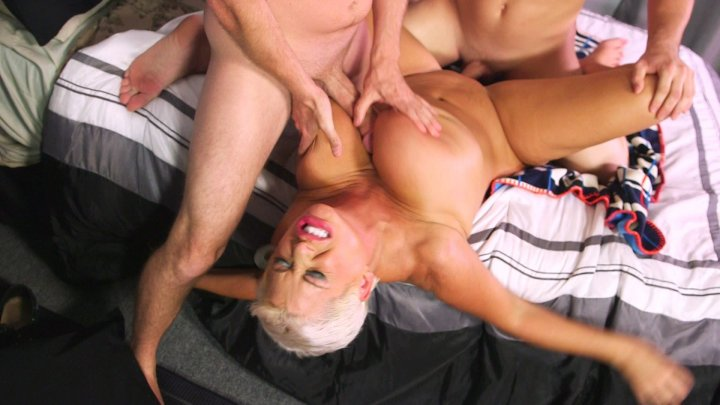 Streaming porn video still #1 from Double Dicked MILFs 5