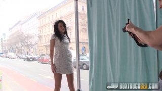 Streaming porn video still #1 from Box Truck Sex: Street Sex 5