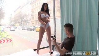 Streaming porn video still #2 from Box Truck Sex: Street Sex 5