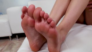 Streaming porn video still #1 from Haley Reed's Hardcore Foot Fetish