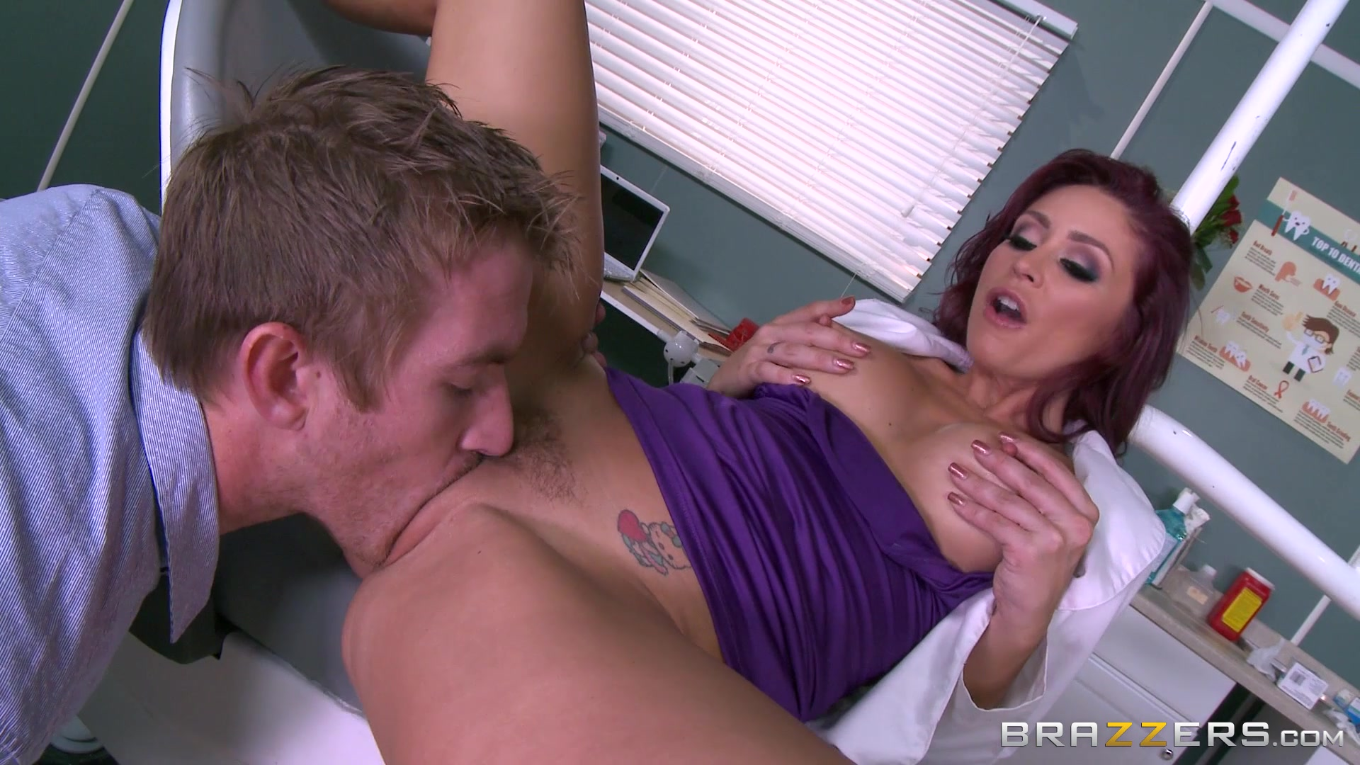 Brazzers dirty doctors august and isis share a cock 2
