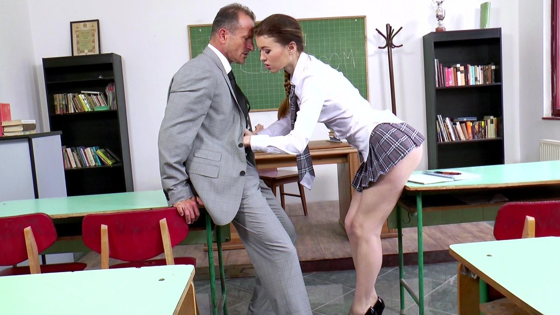 Classroom detention fuck