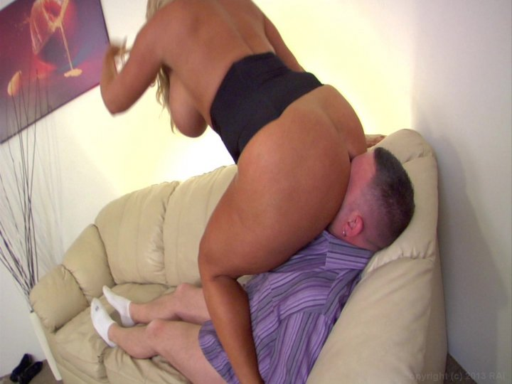 Streaming porn video still #4 from FemDom Ass Worship 21