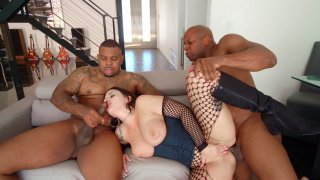 Streaming porn video still #9 from Interracial Is The New Black