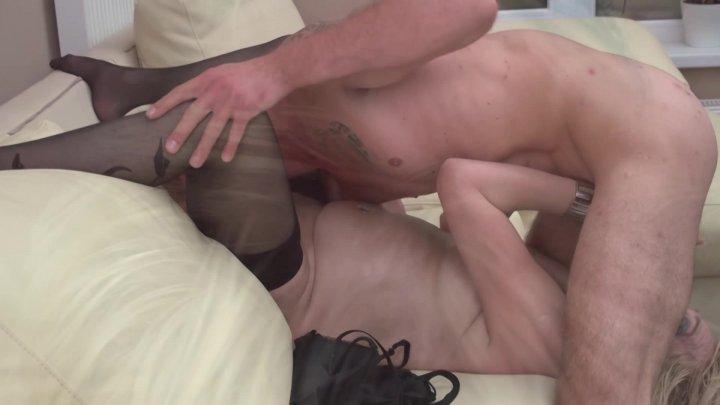 Streaming porn video still #1 from Creeping Around Granny's Backdoor