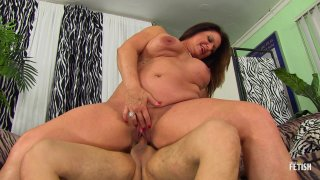 Streaming porn scene video image #6 from Younger Guy Gets Lucky With Thick Granny