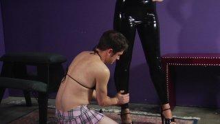 Streaming porn video still #4 from Inadequate Sissy Slut