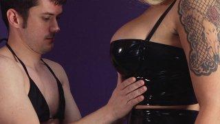 Streaming porn video still #6 from Inadequate Sissy Slut