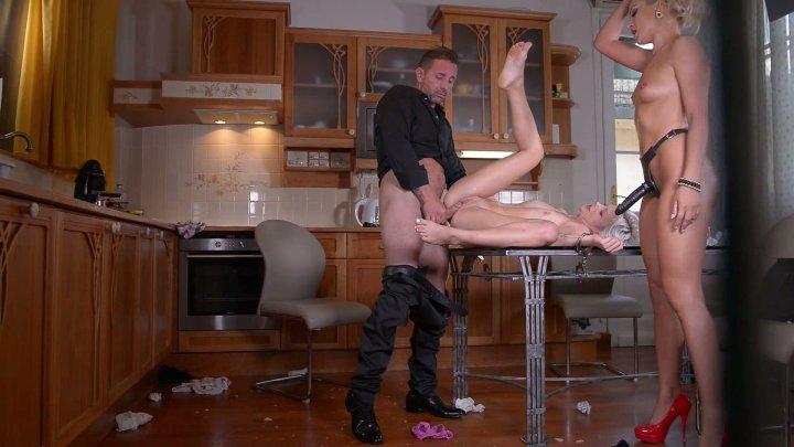 Streaming porn video still #1 from Kinky Threesomes Extreme