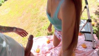 Streaming porn video still #2 from Exxxtra Small Chicks Fucking Huge Dicks #26
