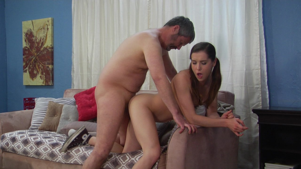 Strict step dad sex video