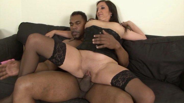Streaming porn video still #1 from Cougars & Big Black Dicks 2