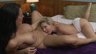 Streaming porn video still #2 from Reagan Foxx & Her Girlfriends