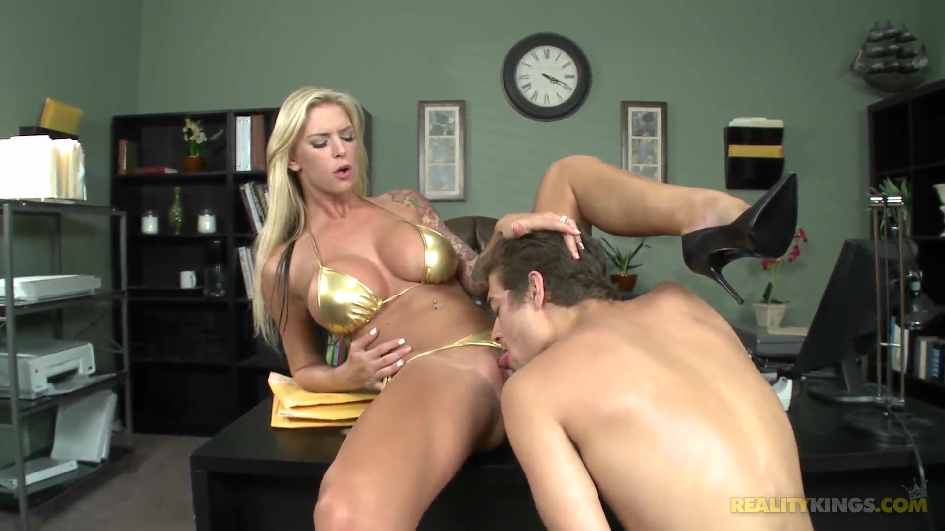 big tits boss 16