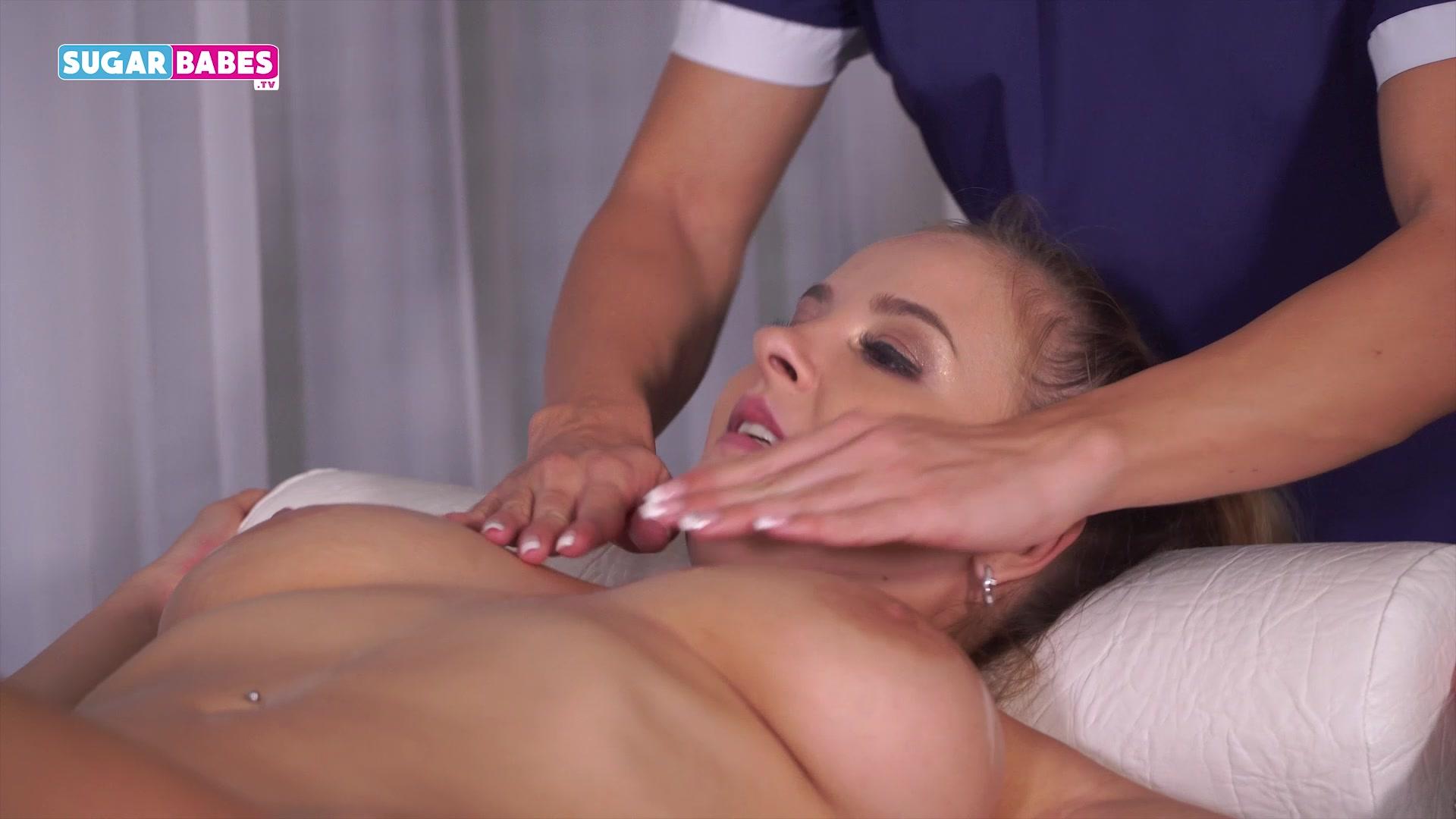 boobs massage video Hot